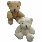 12 Chaveiros Lembrancinha Mini Ursinho De 10cm - Maternidade