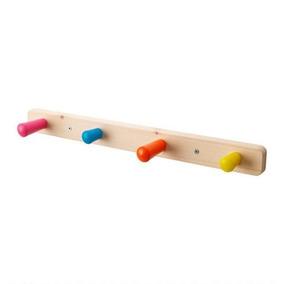 Perchero Infantil De 4 Colgadores Ikea