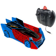 Carrinho Controle Remoto Candide Spider Man Web Climber 5854