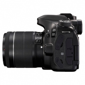 Câmera Canon Eos 80d Kit 18-55 Is Stm