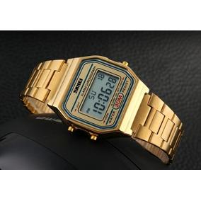 9a5fb3ddb99 Relogio Quadrado Dourado Masculino - Relógios no Mercado Livre Brasil