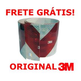 Promoção! Faixa Refletiva Parachoque 3m - 2,4m X 10 Cm
