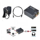 Adaptador Conversor Audio Óptico A Rca Gocyexpress