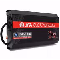 Fonte Carregador Bateria Digital Jfa 200a Modelo Novo