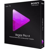 Sony Vegas Pro 14 Mídia Física + 3 Brinde