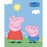 Kit Imprimible Modificable Peppa Pig Fiesta 3x1