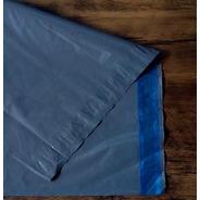 Envelope Ecológico C/ Lacre De Segurança 70x50 Cinza 500 Un