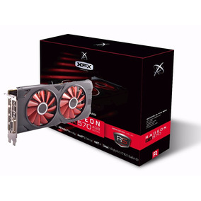 Placa De Video Xfx Rx 570 Oc 4gb Ddr5