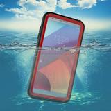 Lg G6 Waterproof Caseunderwater Cover Full Body Prot - Rojo