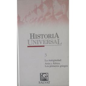 Libro -historia Universal N° 3 La Antiguedad,salvat-cdl-62-