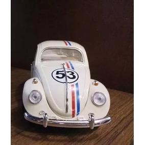 Fusca Herbie Escala 1/18