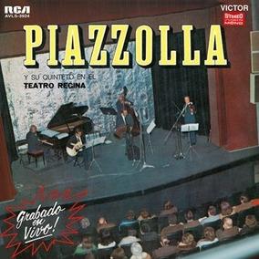 Lp Vinilo Nuevo Astor Piazzola Teatro Regina