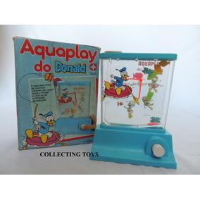 Aquaplay Do Donald - Disney - Na Caixa Original - Anos 80