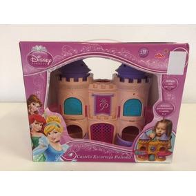 Castelo Escorrega Bolinha Princesas Disney Original Elka *