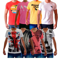 Camisetas Abercrombie & Fitch, Hollister E Armani Exchange