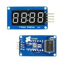 Módulo Display 7 Segmentos 4 Digitos Con Tm1637,arduino,pic
