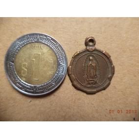Medalla Antigua De La Virgen De Guadalupe