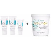 Kit Pós Quimica Penetrait + Mascara Evolution 1kg For Beauty