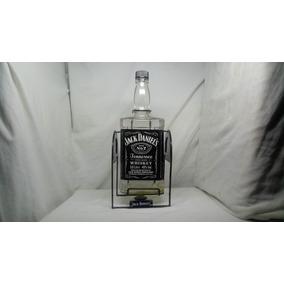 Botella Vacía Whisky Jack Daniels 3 L Y Base, Coleccionalo