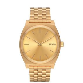 Reloj Time Teller Dorado/dorado Nixon