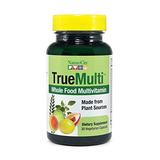 Truemulti Whole Food Multivitamin (made From Plant Source