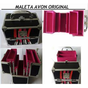 Maleta Avon Maquiagem Original Profissional