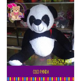 Peluche Oso Panda Grande 75cm. Fabricantes