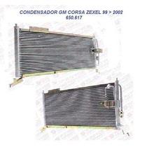Condensador Gm Corsa 99 2000 2001 2002 Modelo Zexel