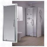 Puerta Pivot Ferrum Rebatible Vidrio Transparente 70 185