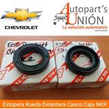 Estopera Rueda Delantera Casco Caja Chevrolet Nkr