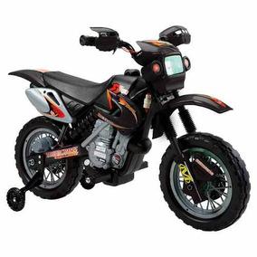Super Moto Elétrica Infantil Preta - Belfix - Top - Original
