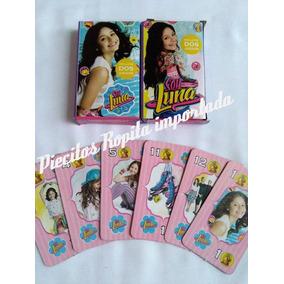 Cartas Naipes Infantiles Soy Luna $9 Cada Mazo