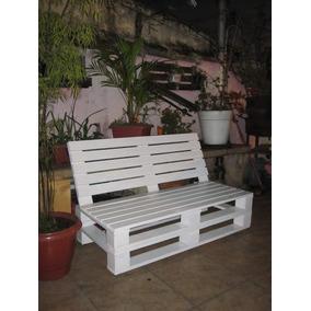Sofa, Banco Pallet Dois Lugares - Retrátil