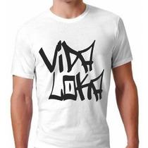 Camisa Racionais Mcs Personalizada Vidaloka Negro Drama Plt