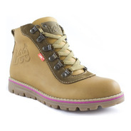 Zapato Bota Casual Lee Mujer - 302l-1