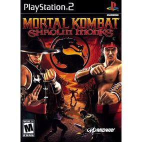 Patch Ps2 - Mortal Kombat Shaolin Monks