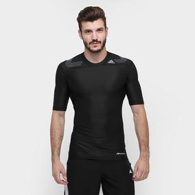 Camiseta De Compressão adidas Tf Power Masculina Preta 9f5a7d13650ac