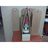 Porta Botella En Chapaforte Ideal Para Ponche Crema