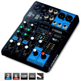 Yamaha Mg06x Mixer Con Efectos 6 Canales Nuevo Gtia