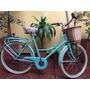 Bicicleta Vintage, Retro Dama Rod. 26 C/portapaquete Inglesa