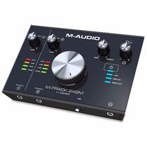 M-audio M-track 2x2m Ii 2 Interface Audio Usb . Loja . Gtia