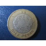 Moneda 10 Pesos 2007 Grafila Invertida