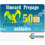 Simcard 4g Movistar Prepago Distribuidor Negocio X Mayor