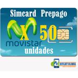 Simcard 4g Movistar Prepago Distribuidor Negocio X Mayor