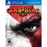 God Of War 3 Iii Remastered Playstation 4 Entrega Rapida