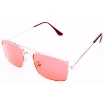 Óculos De Sol Quadrado Infantil Juvenil Unissex Lente Uv400