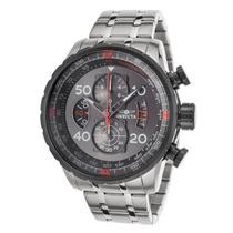 Reloj Invicta Aviator 17204 Acero Inoxidable Envio Gratis