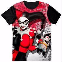 Camisetas Niña Harley Queen Mujer Maravilla Ultima Coleccion