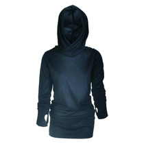 Sweater Hoodie Vestido Lanilla Viuda Negra Dark Gotico