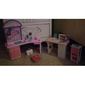 Set De Barbie Veterinaria Original Mattel Coleccion Regalo